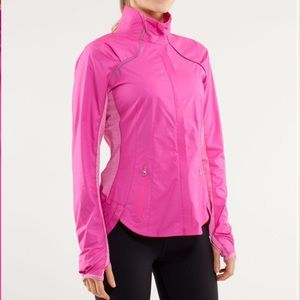 Lululemon Run: Essential Jacket II Paris Pink